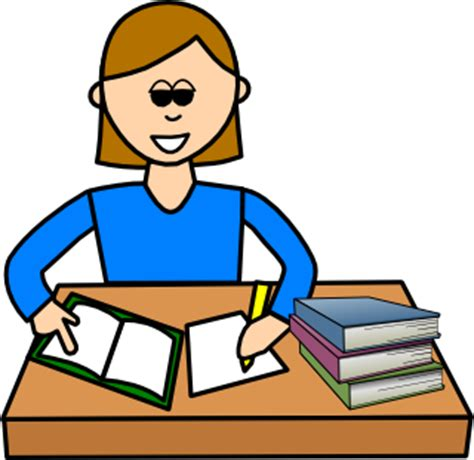 Search Results for homework - Clip Art - Pictures